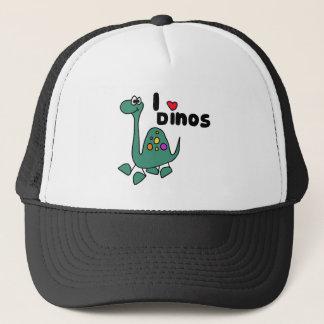 XX- Cute I Love Dinos Design Trucker Hat