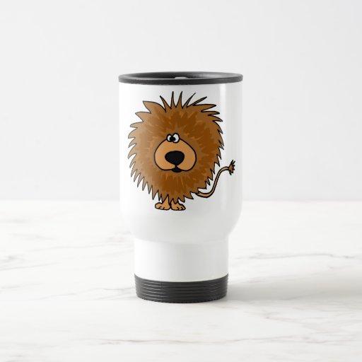 XX- Cute Lion Cartoon Mug