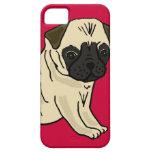 XX- Cute Pug Puppy Dog Cartoon iPhone 5 Cover