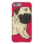 XX- Cute Pug Puppy Dog Cartoon iPhone 6 Case