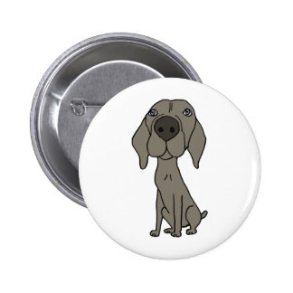 XX- Cute Weimaraner Design Pins
