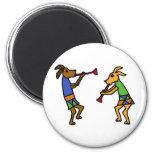 XX- Dancing Dogs Cartoon Fridge Magnets