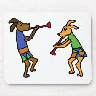XX- Dancing Dogs Cartoon Mouse Pad