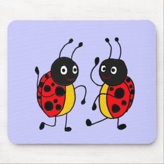 XX- Dancing Ladybugs Mouse Pad