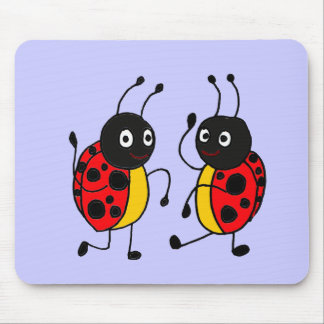 XX- Dancing Ladybugs Mouse Pads