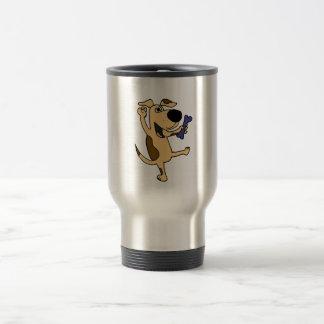 XX- Dancing Puppy Dog Travel Mug