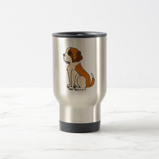 XX dibujo animado adorable del perro de perrito de Taza De Viaje De Acero Inoxidable