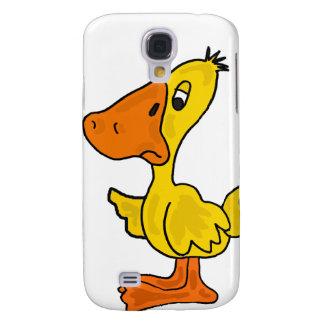 XX dibujo animado amarillo divertido del pato