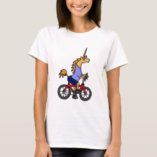 XX dibujo animado de la bicicleta del montar a Playera