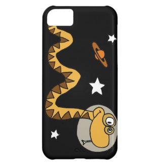 XX dibujo animado de la serpiente del astronauta
