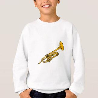 XX dibujo animado de la trompeta de la diversión Sudadera