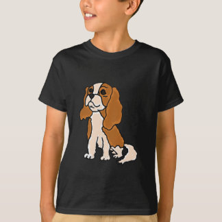 XX dibujo animado del perro del perro de aguas de Polera
