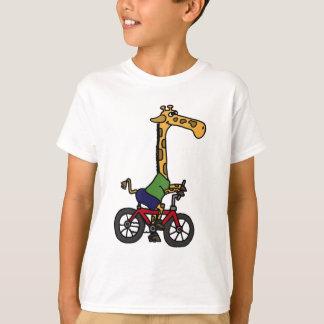XX dibujo animado divertido de la bicicleta del Playera