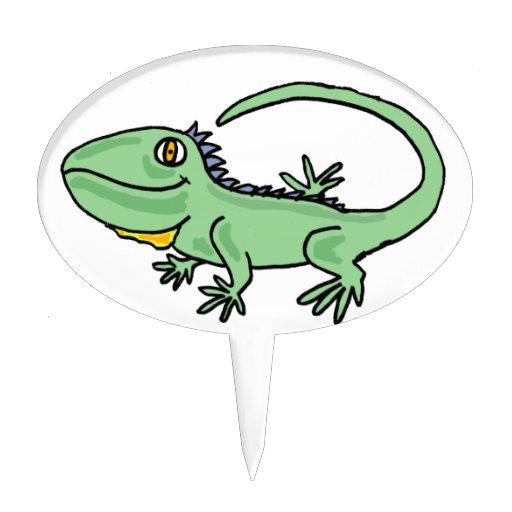 Dibujo animado de iguana - Imagui