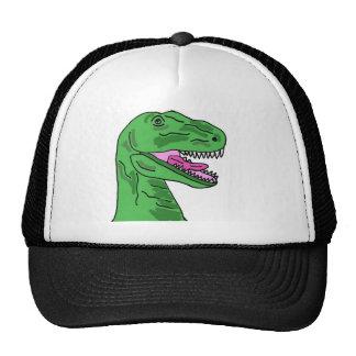 XX dibujo animado divertido del dinosaurio de T-Re Gorro De Camionero