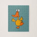 XX dibujo animado divertido del pato del baile Puzzles