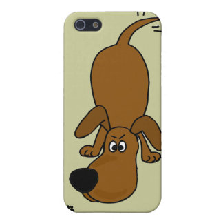 XX dibujo animado el oler Hounddog iPhone 5 Carcasas