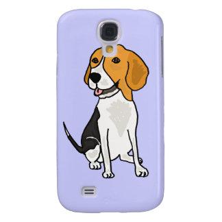 XX dibujo animado lindo del beagle Funda Para Galaxy S4