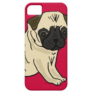 XX dibujo animado lindo del perro de perrito del b iPhone 5 Case-Mate Funda