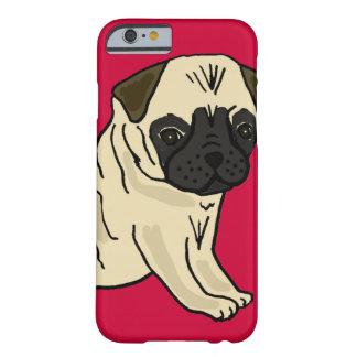 XX dibujo animado lindo del perro de perrito del Funda De iPhone 6 Barely There
