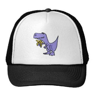XX dinosaurio de T-Rex que come el dibujo animado  Gorras De Camionero