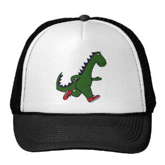 XX dinosaurio que activa divertido con las zapatil Gorras