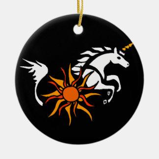 XX diseño del arte del unicornio Adorno