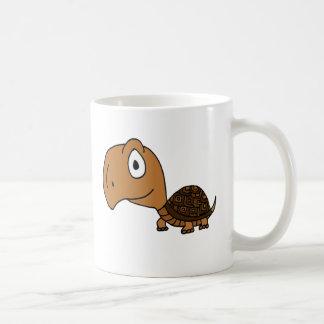 XX diseño divertido de la tortuga de caja Taza De Café
