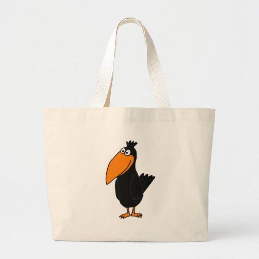 XX diseño divertido del cuervo Bolsas