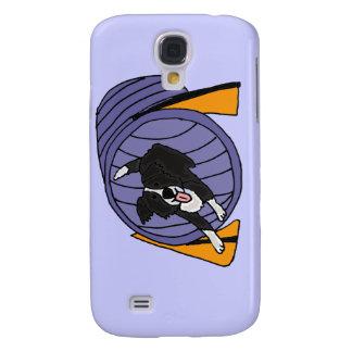XX- Dog Agility Tunnel Cartoon Galaxy S4 Case
