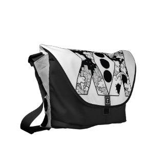 XX dots Messenger Bags