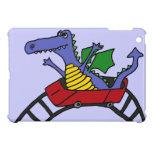 XX dragón divertido en una montaña rusa iPad Mini Protector