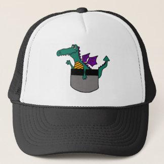 XX- Dragon in a Pocket Cartoon Trucker Hat