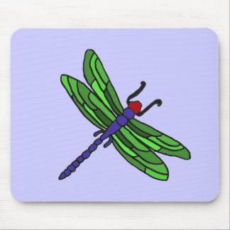 XX- Dragonfly artoon Mouse Pad