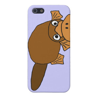 XX- Duck Billed Platypus Cartoon Case For iPhone SE/5/5s