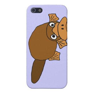 XX- Duck Billed Platypus Cartoon iPhone SE/5/5s Case