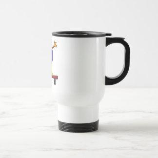 XX- Duck on the Balance Beam Cartoon Coffee Mug