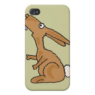 XX- Dumb Bunny Cartoon iPhone 4 Cover