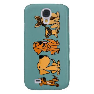 XX el rescate divertido persigue el dibujo animado Funda Para Galaxy S4