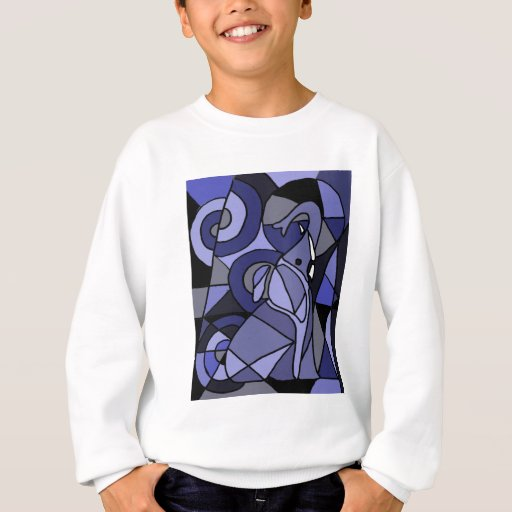 XX elefante del arte abstracto Poleras