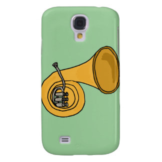 XX- French Horn Cartoon Samsung S4 Case