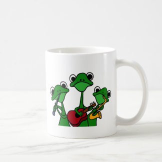 XX- Frogs Playing Music Cartoon Coffee Mug