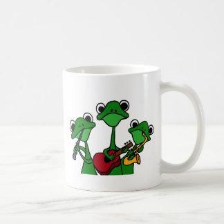 XX- Frogs Playing Music Cartoon Mug