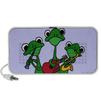 XX- Frogs Playing Music Cartoon PC Speakers