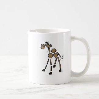 XX- Funky Abstract Art Camel Coffee Mug