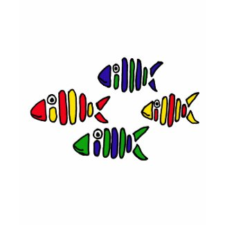 XX- Funky Abstract Art Fish