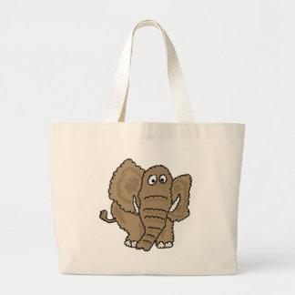 XX- Funky Elephant Large Tote Bag