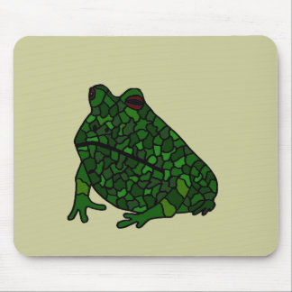 XX- Funky Frog Art Mouse Pad