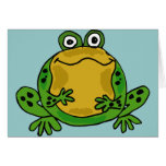 XX- Funky Frog Greeting Card