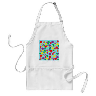 XX- Funky Fruit Pattern Adult Apron